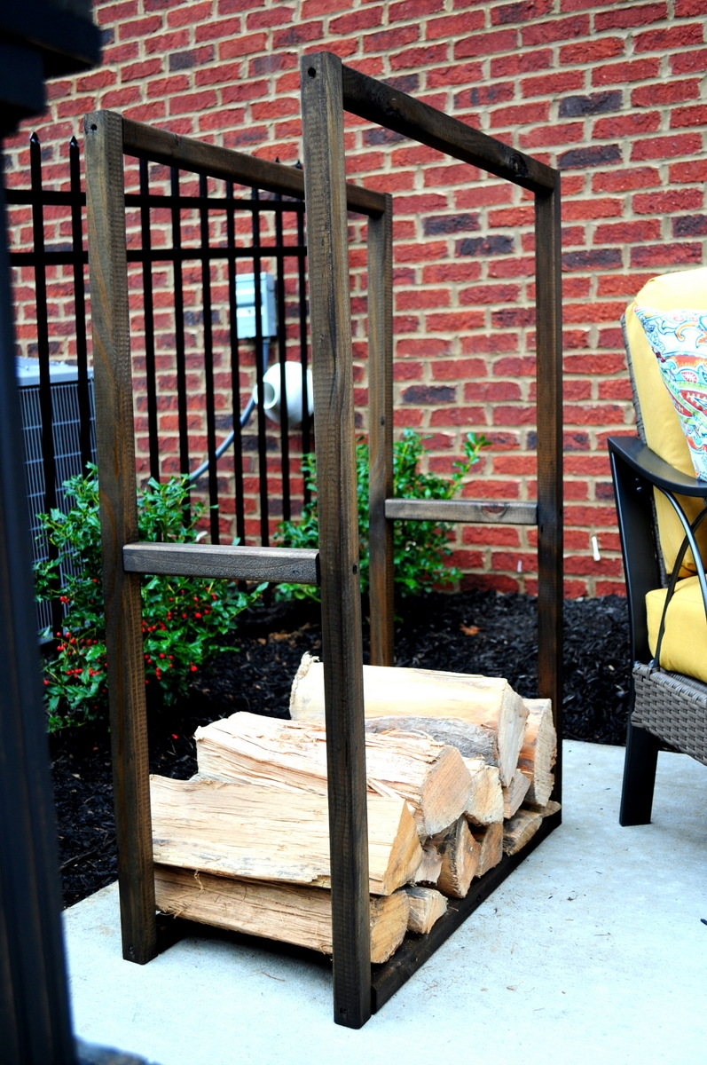 18 best diy firewood storage ideas for Log storage ideas