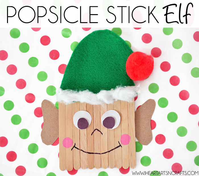 Easy Popsicle Stick Elf