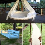 10 Gorgeous DIY Garden Swing Ideas
