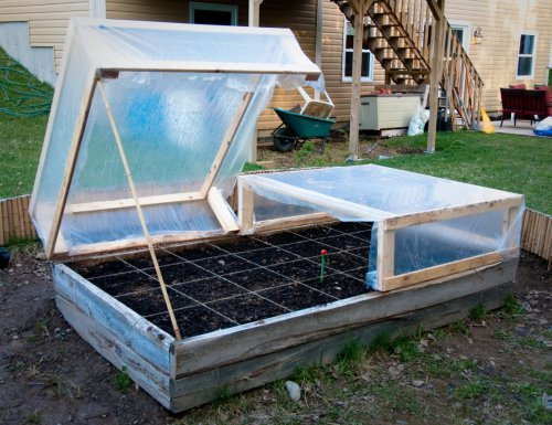 DIY Raised Bed Cold Frame