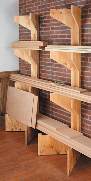 Folding Lumber Racks