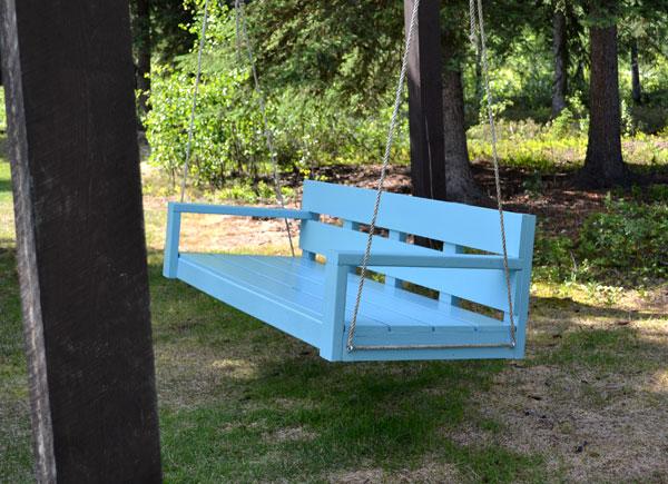Large Modern Porch Swing