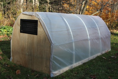 PVC Cold Frame Hoop House