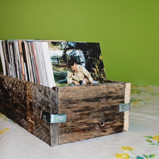 Rustic Pallet Wood Box