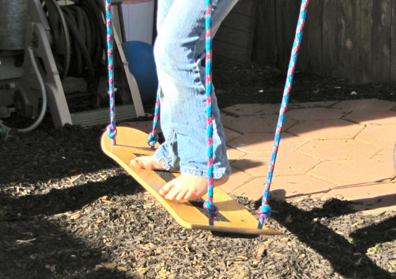 Skate Board Swing
