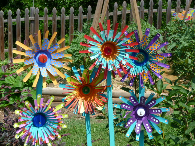 Soda Can Garden Flowers