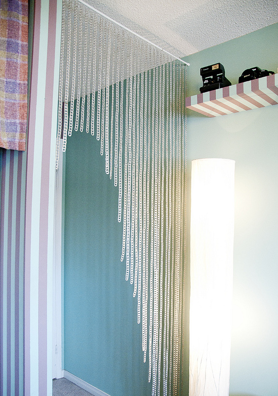 Soda Can Tab Curtains