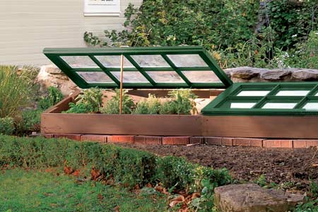 cold frame for 75