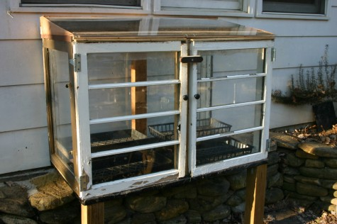 off the ground cold frame