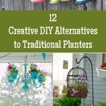 12 Creative DIY Alternatives to Traditional Planters