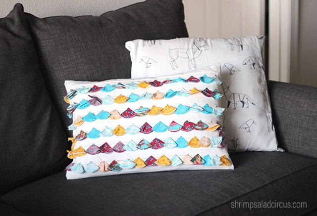 Anthropologie-Inspired Tassel Trace Pillow