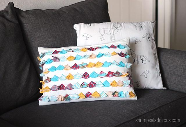 Anthropologie-Inspired Tassel Trace Pillow