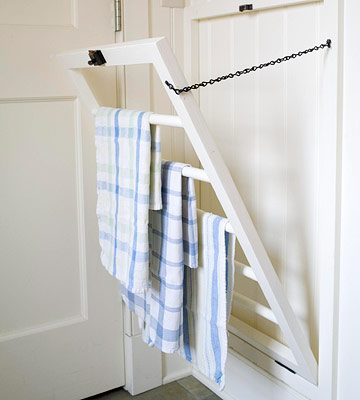 Cottage-Style Drying Rack