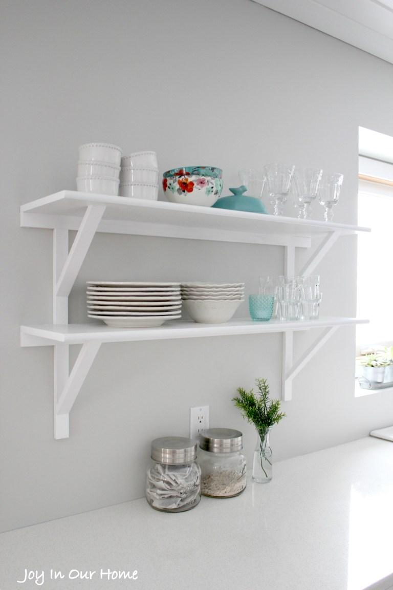 Open Shelves