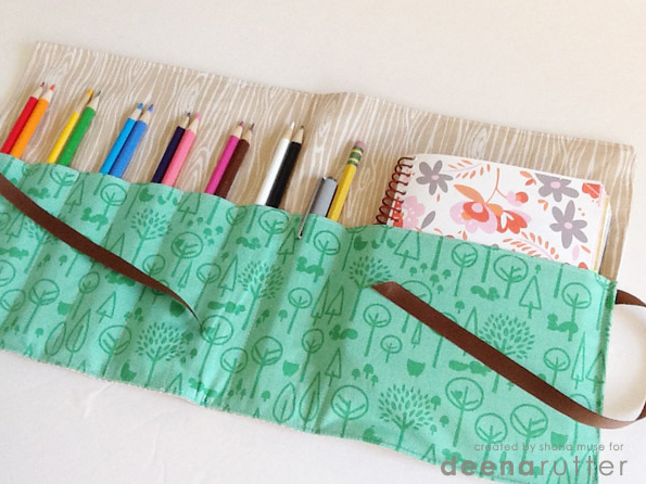 Pencil and Notebook Case
