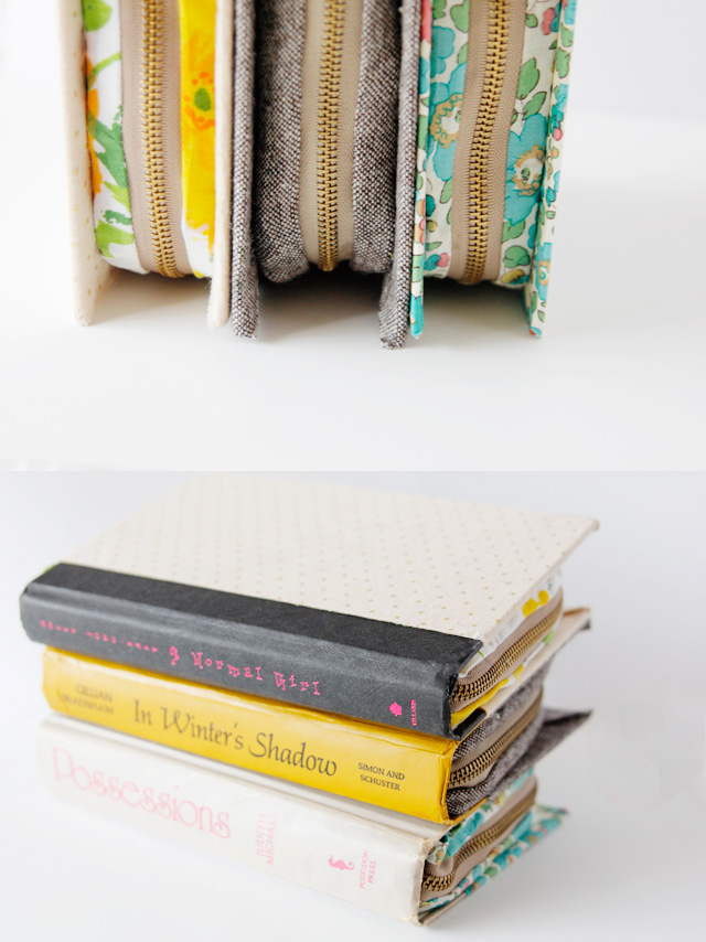 Zipper Book Clutch