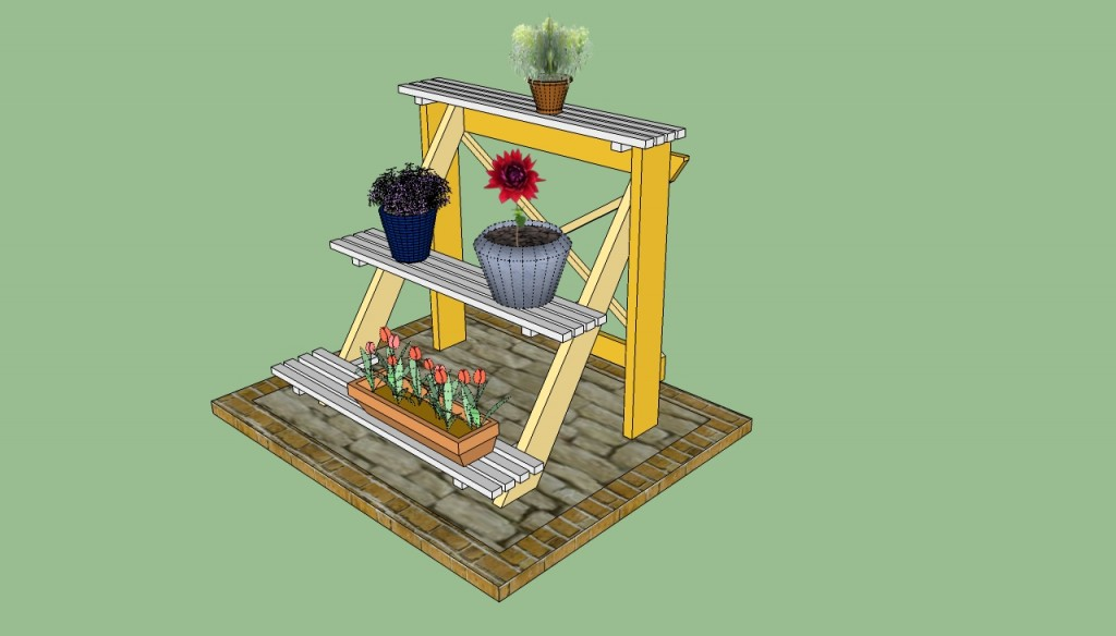 3-Tier Potting Bench