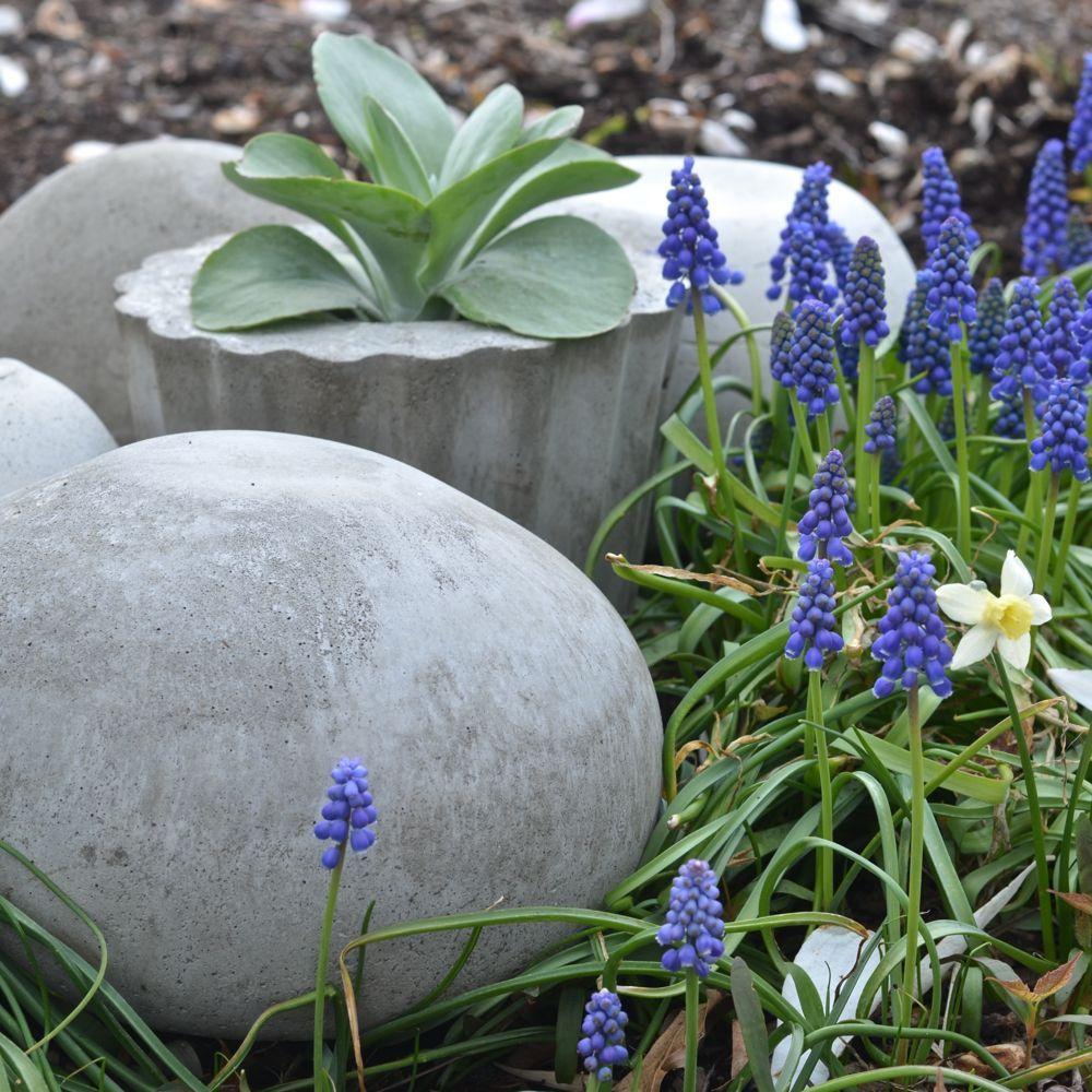 Concrete Garden Orbs