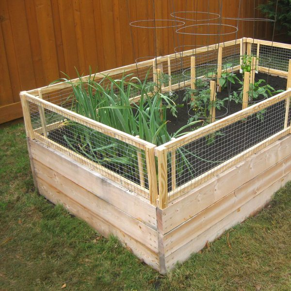 Fenced Garden Bed