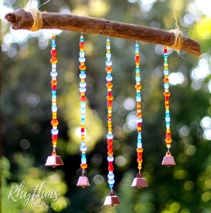 Sea Glass Wind Chime Suncatcher