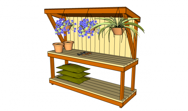 The Covered Potting Bench
