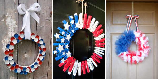 DIY Patriotic Wreath ideas