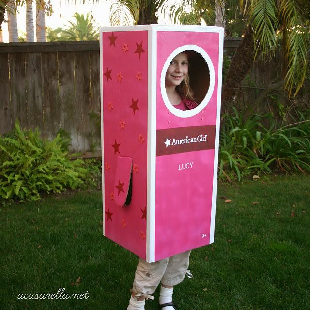 American Girl Doll Box Costume
