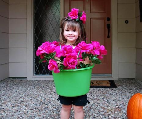 Flower Pot Girl Costume