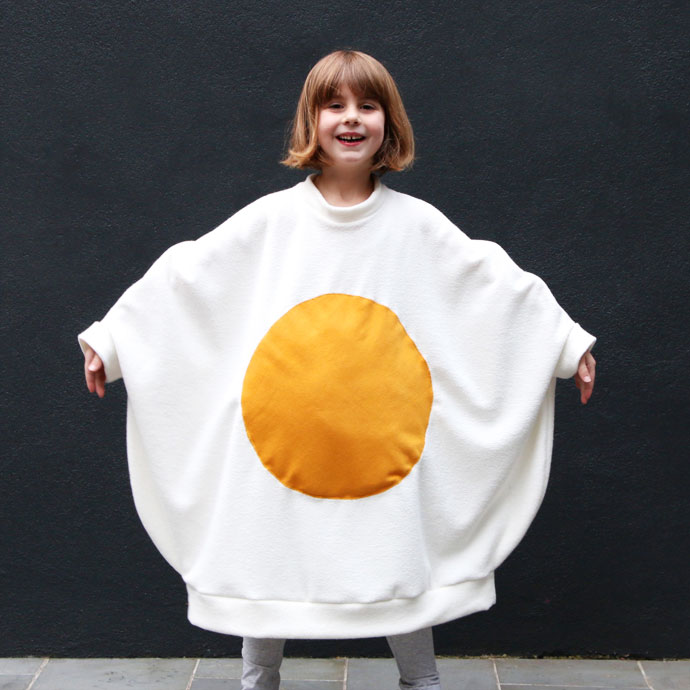 Fried Egg Costume