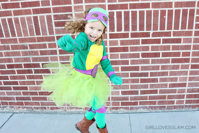 No-Sew Ninja Turtle Costume