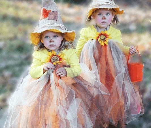 Scarecrow Tutu Halloween Costume