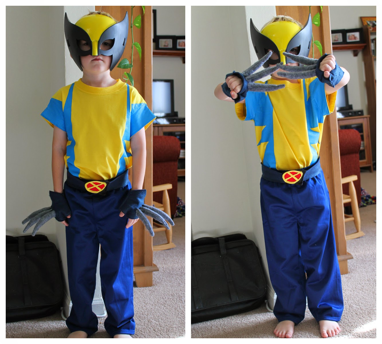 X-men Wolverine costume