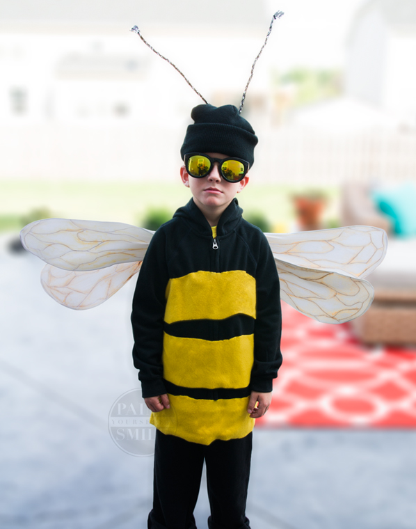 easy bumble bee costume
