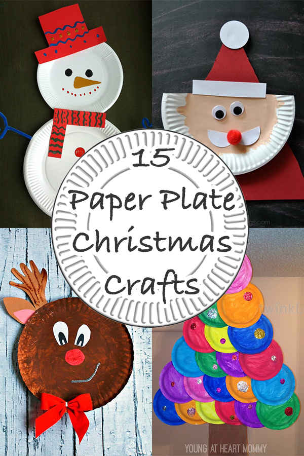 15 Paper Plate Christmas Crafts
