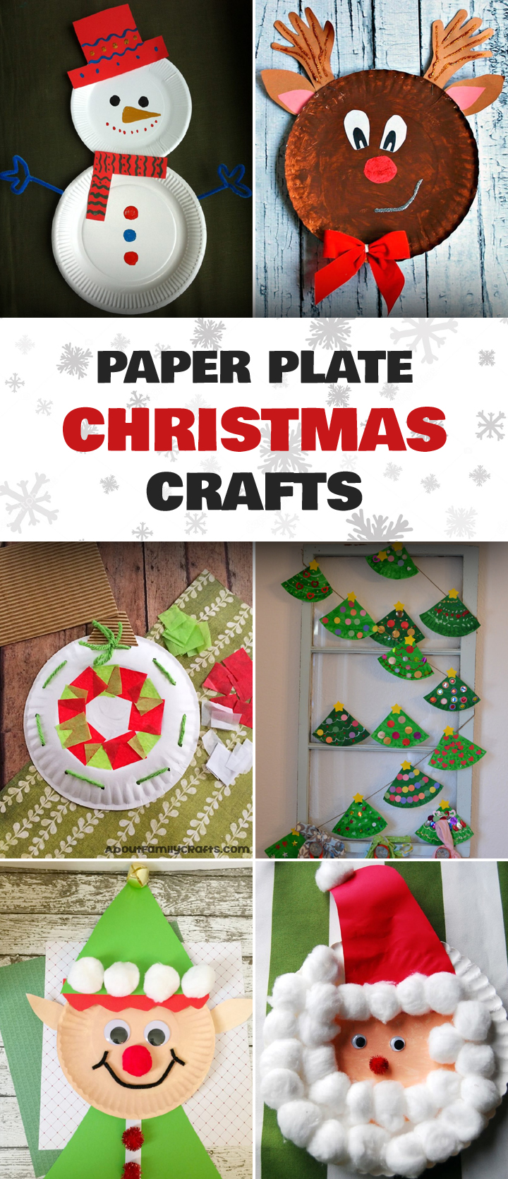 15 incredibly cute paper plate christmas crafts