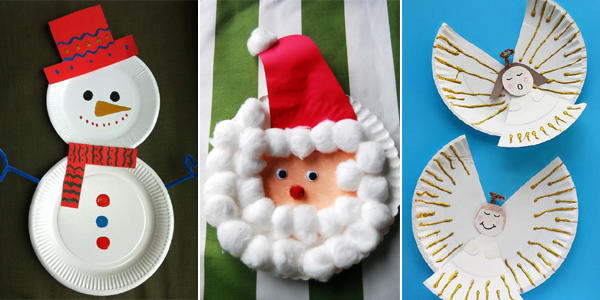 & 15 Incredibly Cute Paper Plate Christmas Crafts