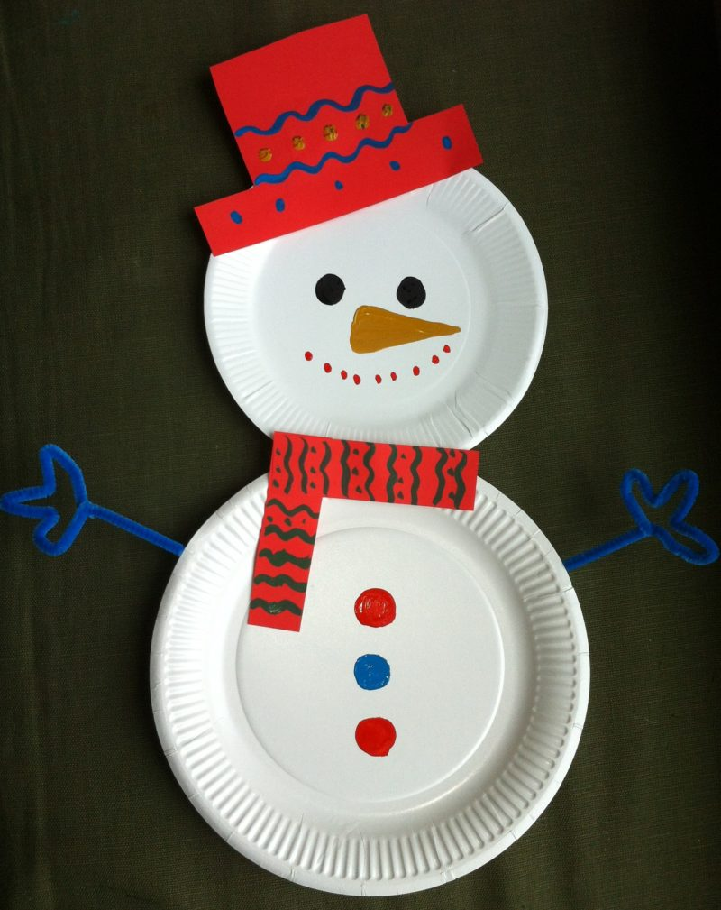 15 incredibly cute paper plate christmas crafts. Black Bedroom Furniture Sets. Home Design Ideas