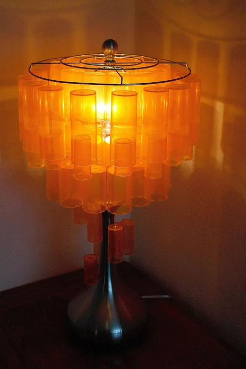 Pill Bottle Lamp