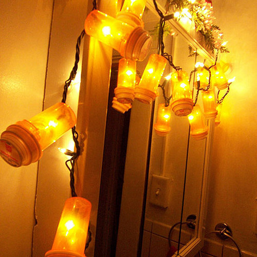 Pill Bottle Light Garland