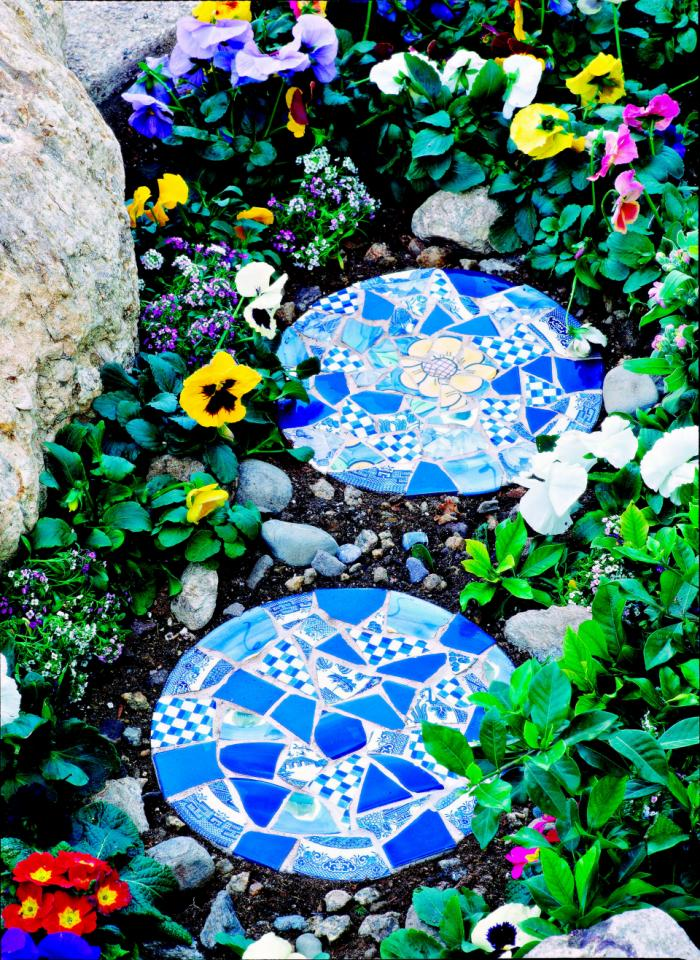 Mosaic Stepping Stones