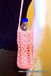 Crochet Bottle Holder