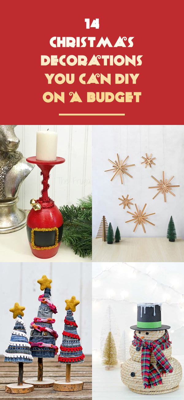 14 Christmas Decorations You Can DIY On A Budget