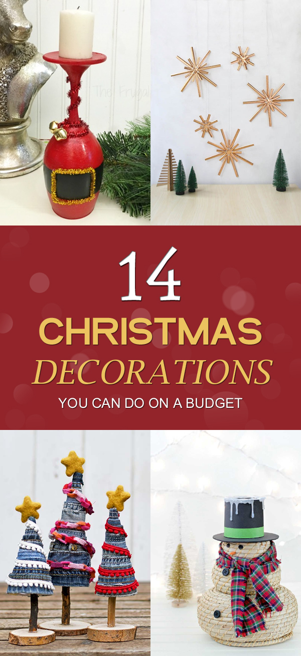 14 Christmas Decorations You Can Do On A Budget