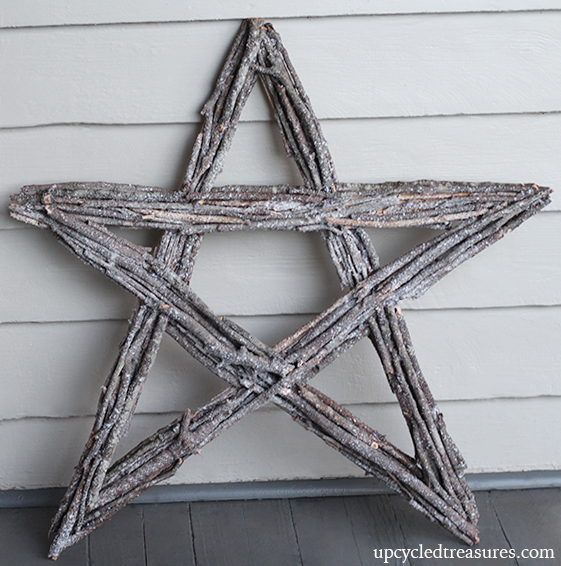 Twig Star Wreath