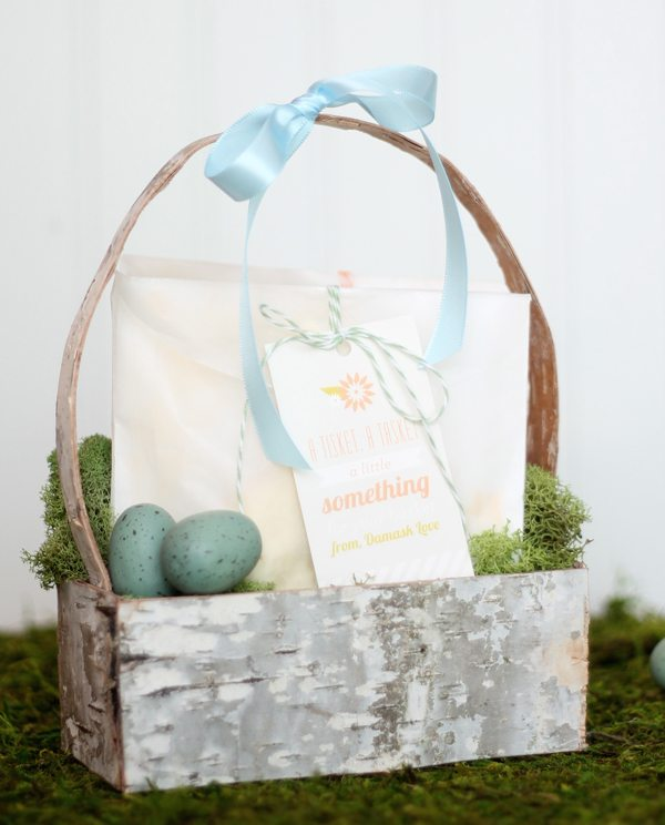 Birch Bark Easter Basket