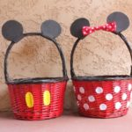 Mickey and Minnie Easter Baskets