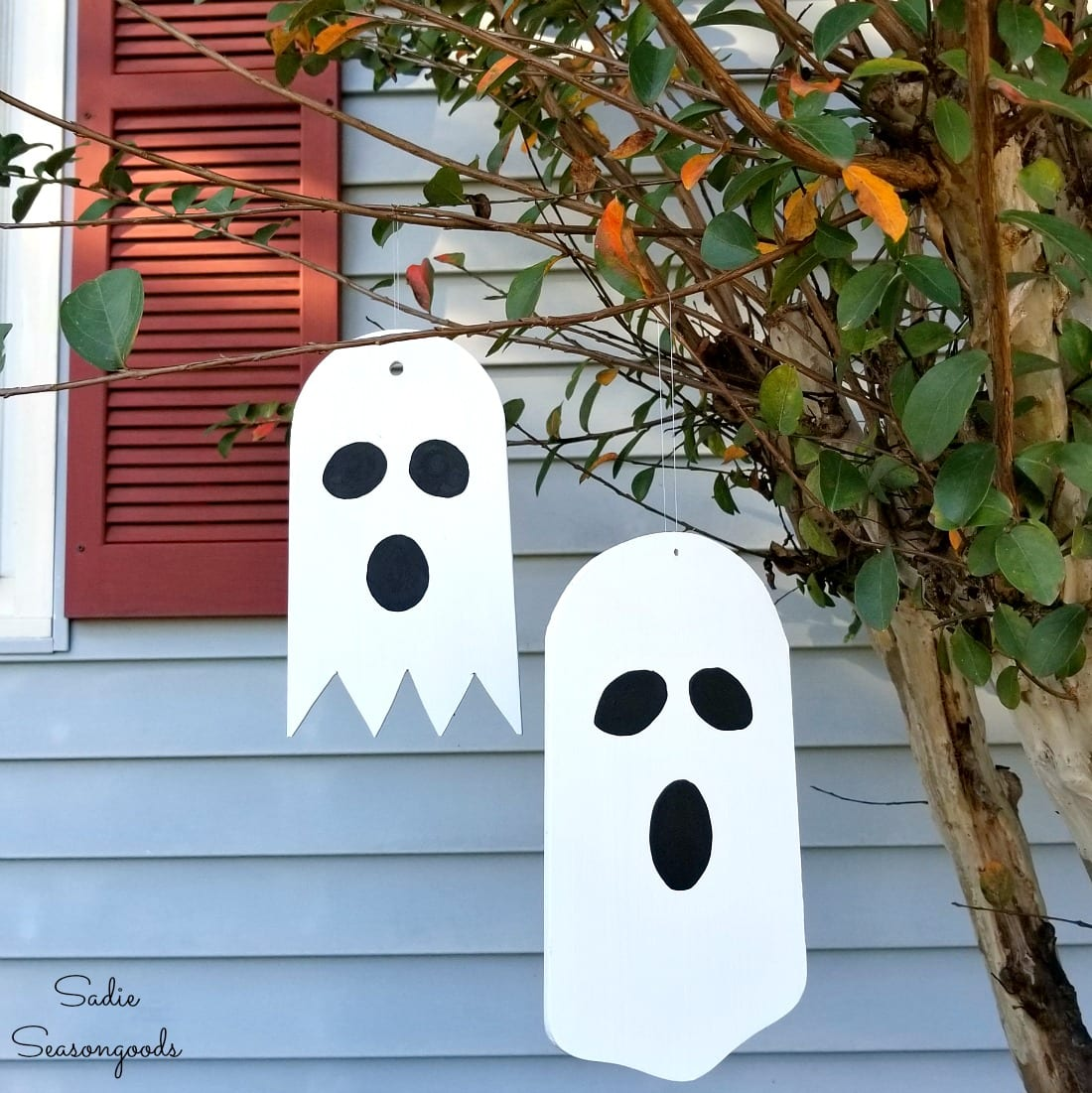 Fan Blade Outdoor Halloween Ghosts