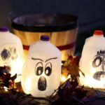 Milk Jug Ghost Lanterns