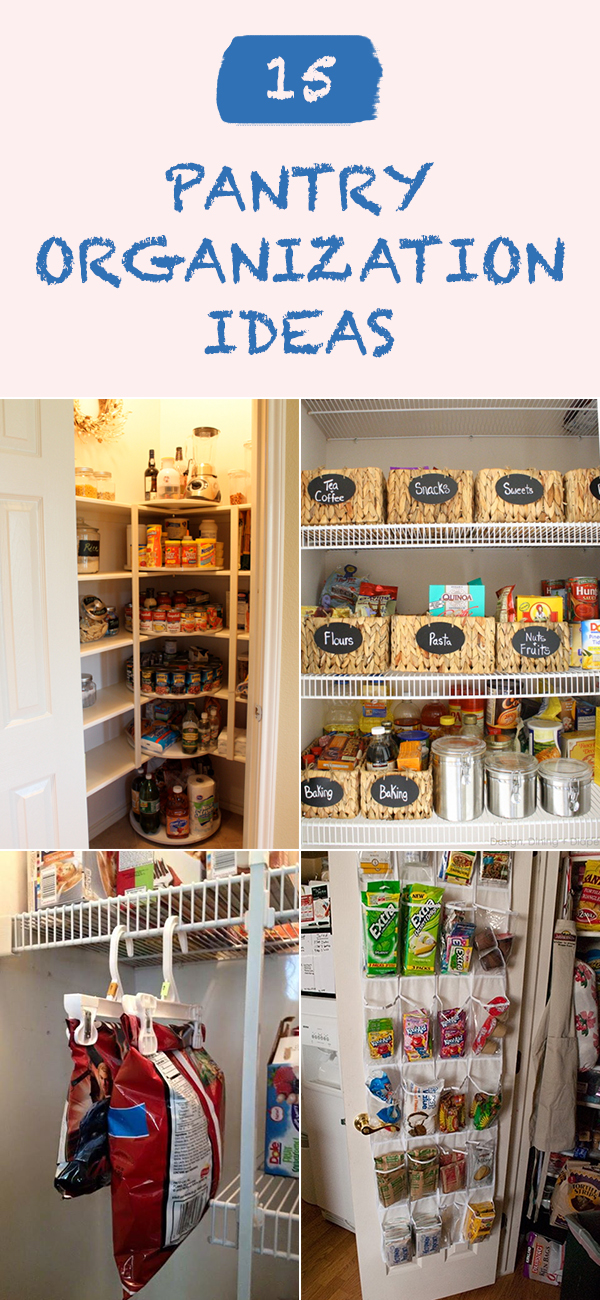15 Genius Kitchen Pantry Organization Ideas