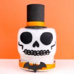 Painted Skull Mason Jar